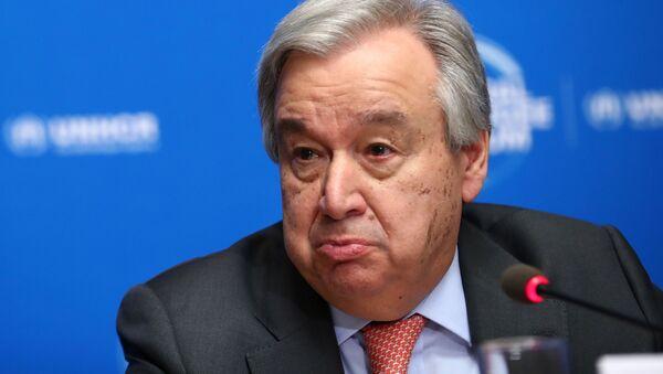 Antonio Guterres - Sputnik Italia