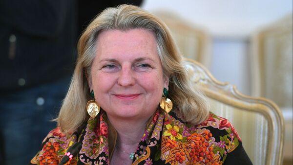 Karin Kneissl - Sputnik Italia