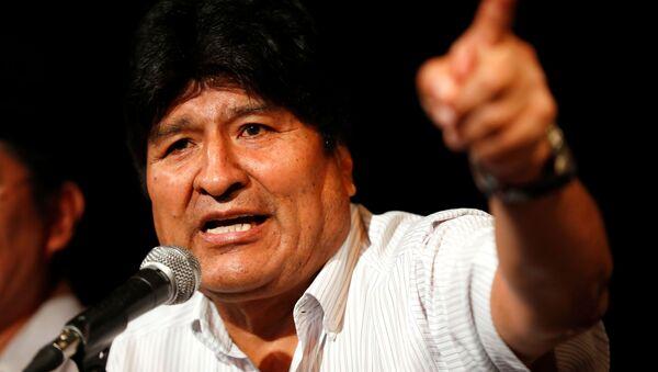 Evo Morales - Sputnik Italia