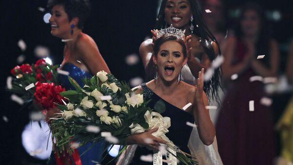 Camille Schrier, la vincitrice del concorso Miss America 2020 - Sputnik Italia
