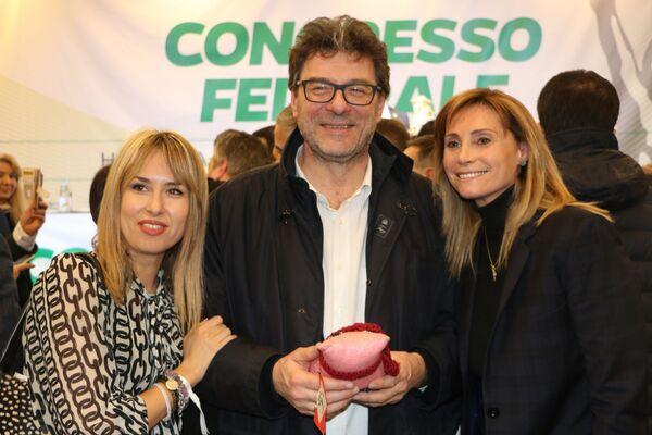Giancarlo Giorgetti al Congresso Federale della Lega - Sputnik Italia