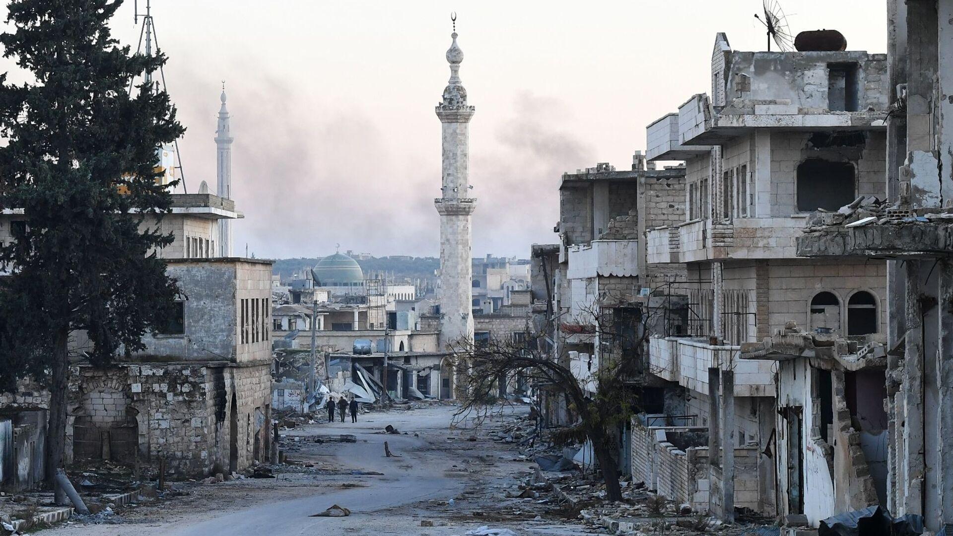 Provincia di Idlib, Siria. - Sputnik Italia, 1920, 20.09.2021