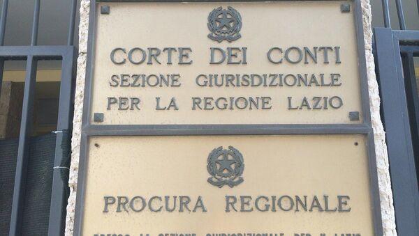 Corte dei Conti Roma e regione Lazio - Sputnik Italia