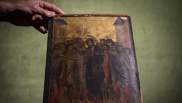Il quadro di Cimbaue Cristo deriso - Sputnik Italia