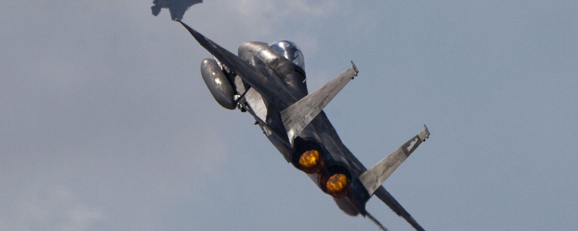 F-15 israele, esercito israele - Sputnik Italia, 1920, 11.05.2021