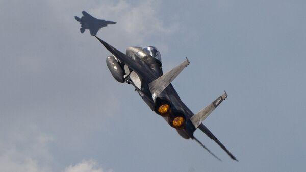 F-15 israele, esercito israele - Sputnik Italia