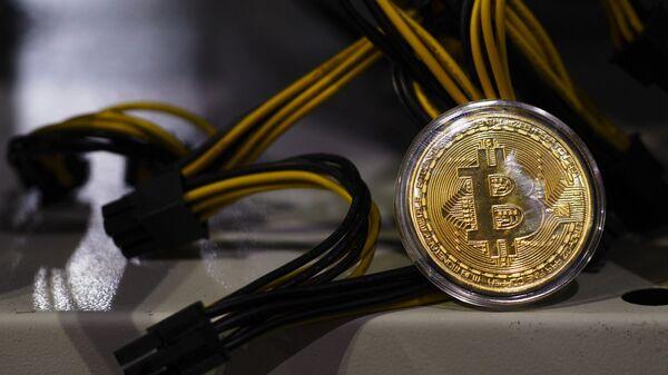 Moneta Bitcoin - Sputnik Italia