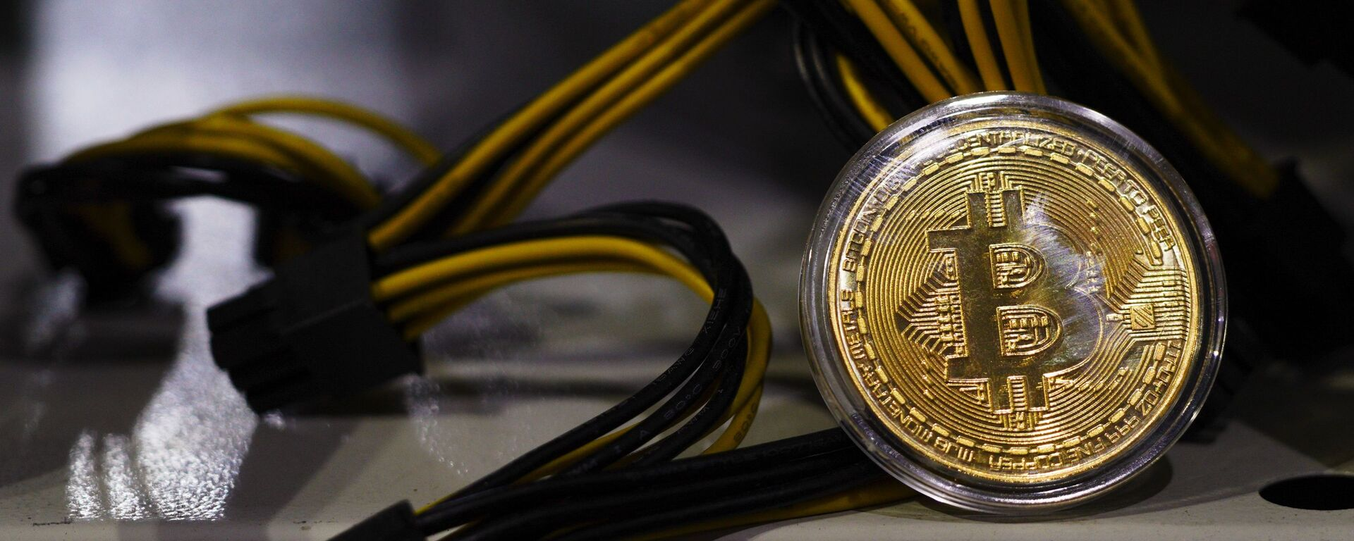 Moneta Bitcoin - Sputnik Italia, 1920, 09.02.2021