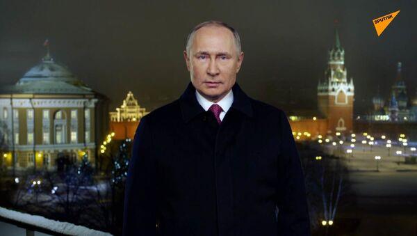 Il discorso di fine anno del presidente russo Putin - Sputnik Italia