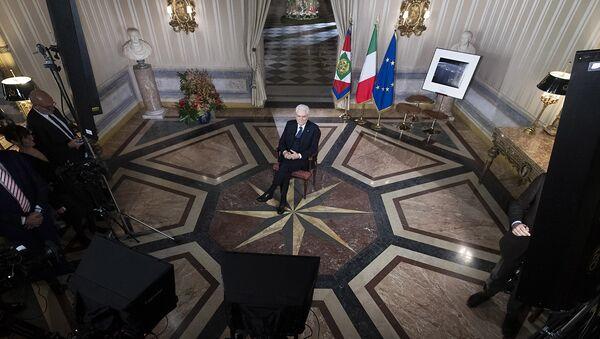 Il discorso di fine anno di Mattarella - Sputnik Italia