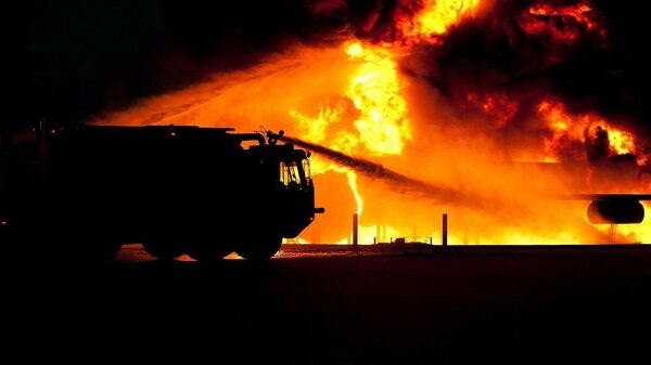 Incendio Vigili del fuoco - Sputnik Italia