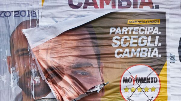 Manifesto elettorale del Movimento 5 stelle - Sputnik Italia