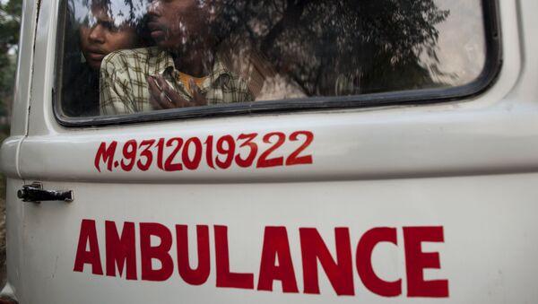 Ambulanza in India - Sputnik Italia