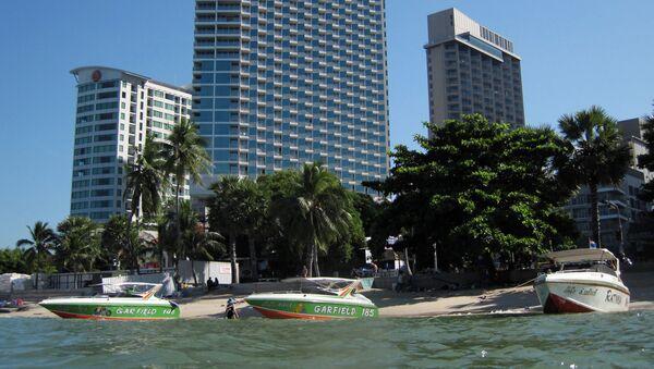 La spiaggia di Pattaya - Sputnik Italia