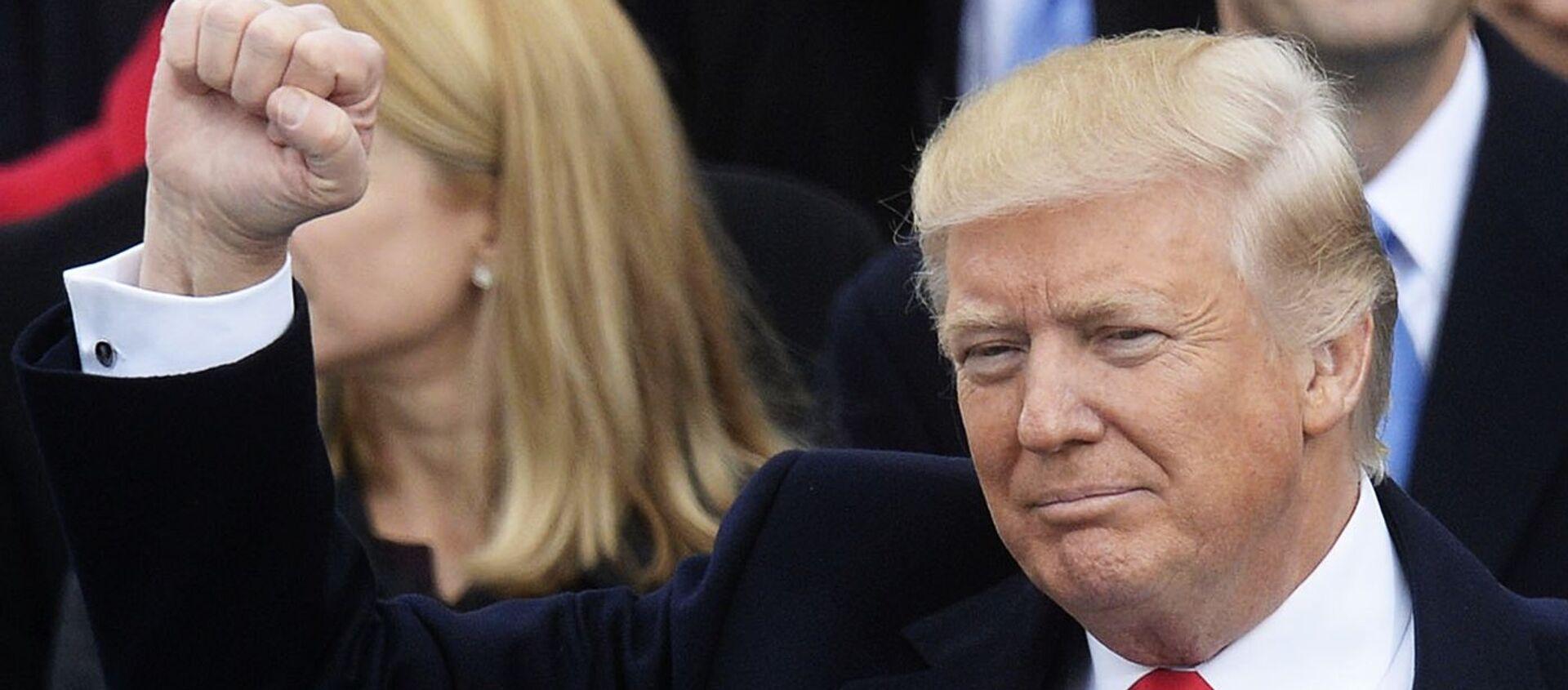 Il Presidente degli Stati Uniti Donald Trump - Sputnik Italia, 1920, 03.10.2020