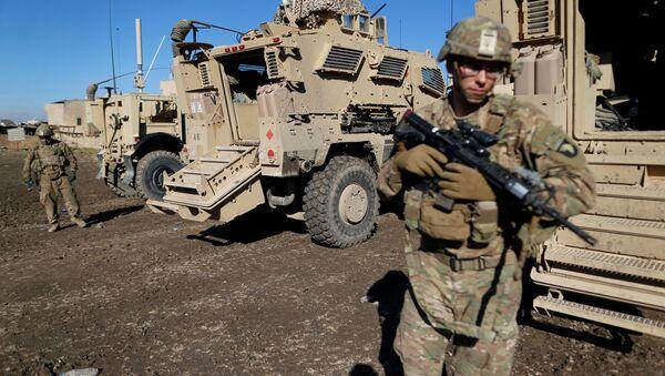 Militari Usa in Iraq (foto d'archivio) - Sputnik Italia