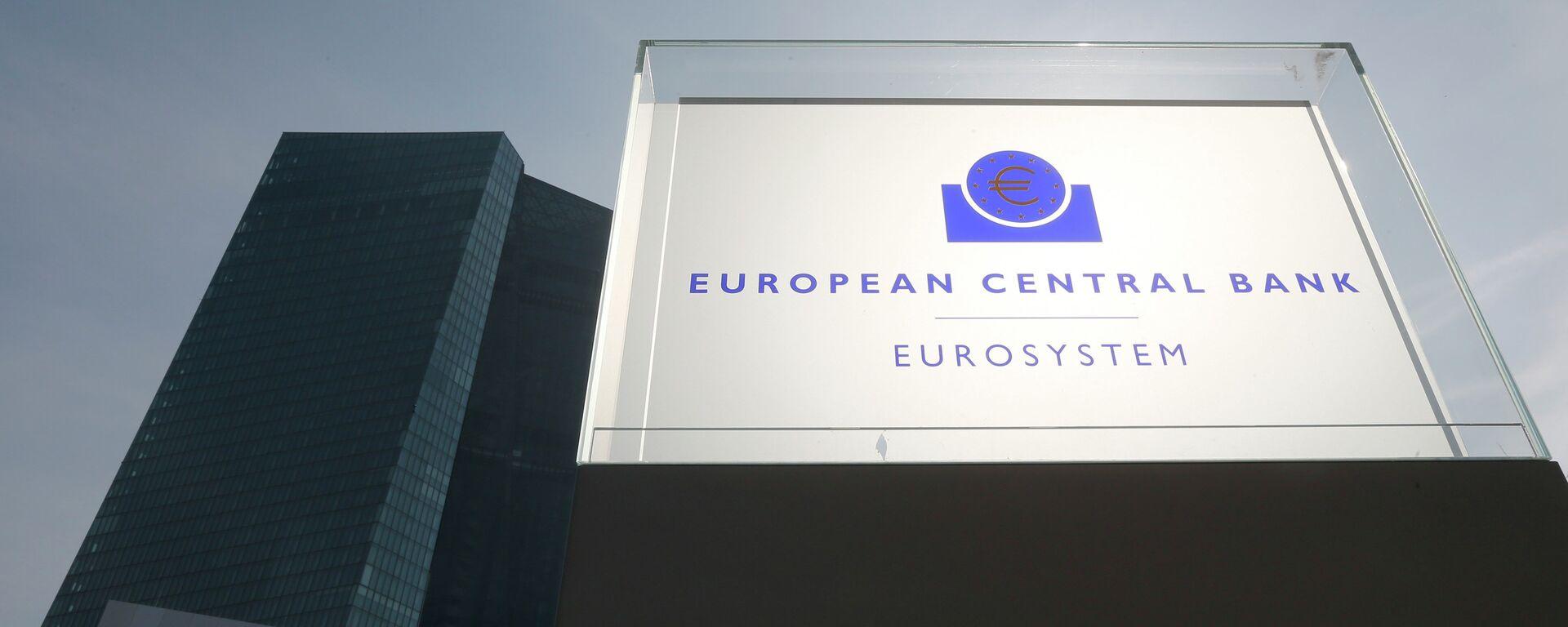 La sede dellas BCE a Francoforte - Sputnik Italia, 1920, 23.12.2020