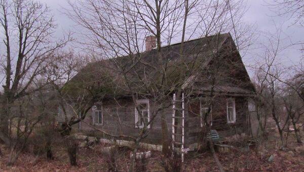 La casa nell'Oblast' di Vitebsk, in Bielorussia, dove è stato ucciso un ospite - Sputnik Italia