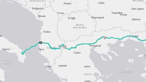 Il percorso del gasdotto TAP - Sputnik Italia