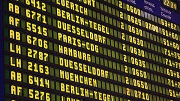 Sciopero trasporto aereo, voli cancellati, aeroporto - Sputnik Italia
