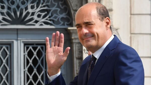 Il segretario del Partito Democratico Nicola Zingaretti - Sputnik Italia