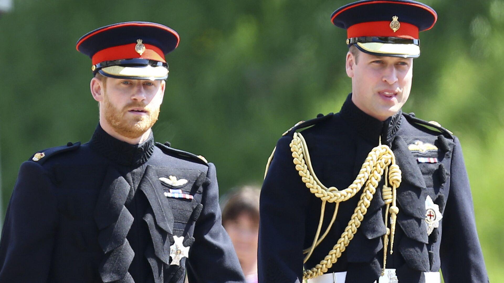Principe Harry e principe William - Sputnik Italia, 1920, 05.04.2021