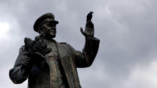 Памятник маршалу Коневу в Праге - Sputnik Italia