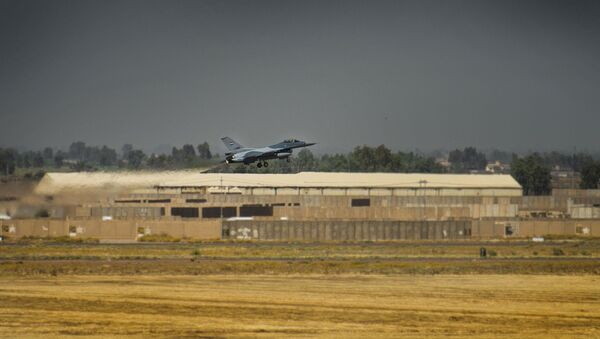 F-16 iracheno sulla base al-Balad - Sputnik Italia
