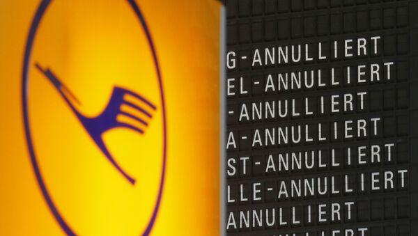 Logo della compagnia aerea Lufthansa - Sputnik Italia