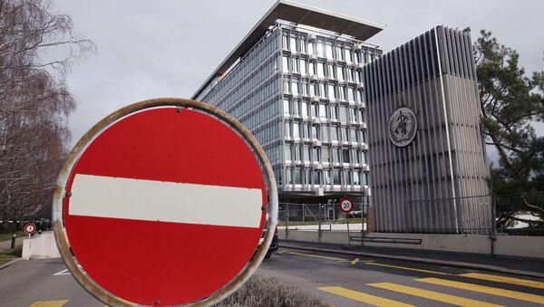 Vista della sede generale dell'Organizzazione mondiale della sanità (OMS) a Ginevra, Svizzera, 1 febbraio 2016 - Sputnik Italia