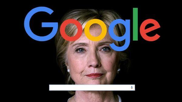 Grande manipolazione di Google: in che modo il motore di ricerca ha portato Clinton a milioni di voti - Sputnik Italia