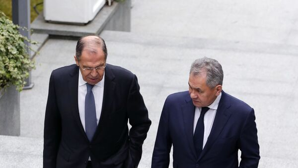 Sergrey Shoigu e Sergey Lavrov - Sputnik Italia