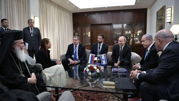 La visita di lavoro del presidente russo Vladimir Putin in Israele - Sputnik Italia