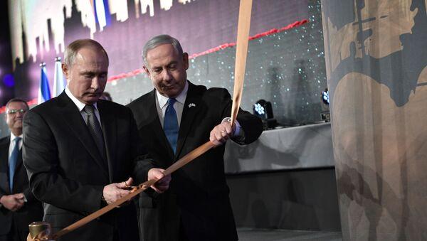 La visita del presidente russo Vladimir Putin in Israele - Sputnik Italia