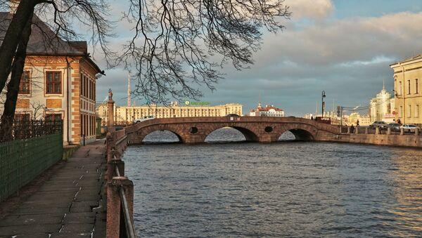 Fiume Fontanka a San Pietroburgo - Sputnik Italia