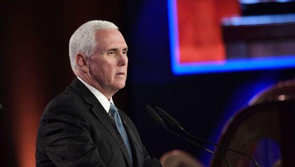 Il vice presidente Usa Mike Pence interviene al 5° Forum sull'Olocausto - Sputnik Italia