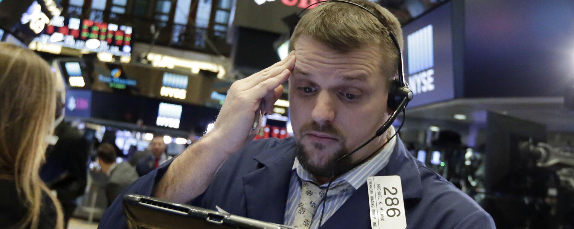Financial Markets Fall Wall Street - Sputnik Italia, 1920, 17.03.2020