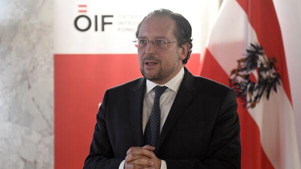 Il ministro degli Esteri austriaco Alexander Schallenberg - Sputnik Italia