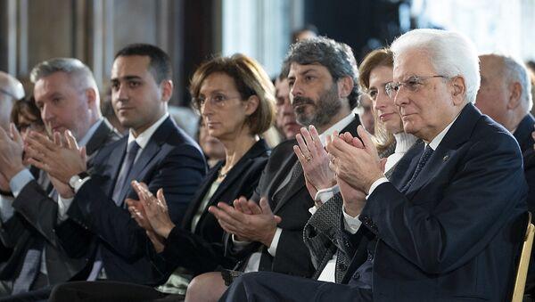 """Il Presidente Sergio Mattarella alla celebrazione del """"Giorno della Memoria"""" - Sputnik Italia"""