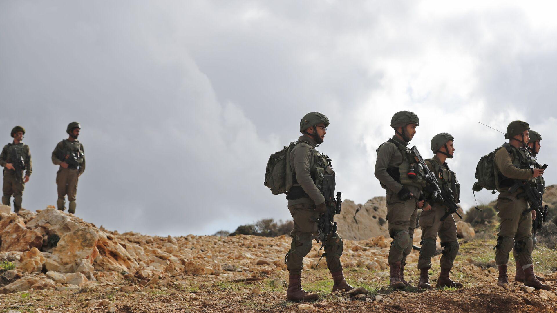 I soldati israeliani in Valle del Giordano - Sputnik Italia, 1920, 16.08.2021