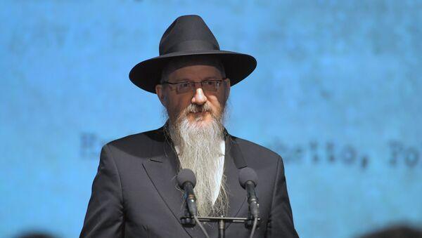 Il rabbino capo della Russia, Berl Lazar - Sputnik Italia
