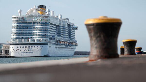 La nave da crociera Costa Smeralda - Sputnik Italia