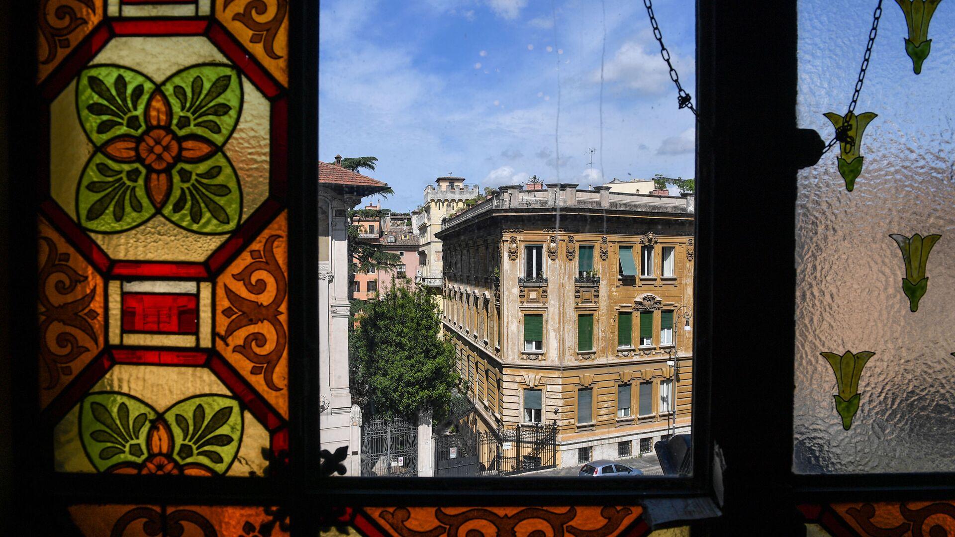 La vista dal Tempio Maggiore, la principale sinagoga di Roma - Sputnik Italia, 1920, 10.07.2021