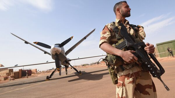 Drone Reaper impiagato nell'Operazione Barkhane - Sputnik Italia