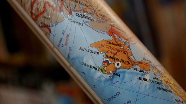 Crimea diventa una parte della Russia sulla mappa - Sputnik Italia