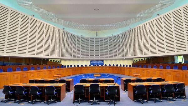 Aula della Corte Europea dei Diritti dell'Uomo - Sputnik Italia