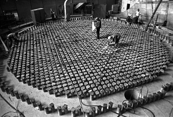 Costruzione della centrale nucleare di Chernobyl, 1975 - Sputnik Italia