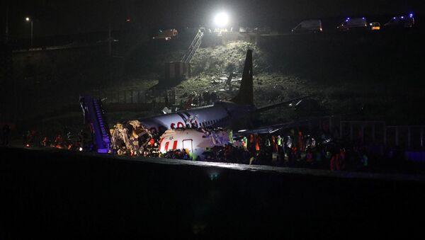 Incidente a terra per aereo all'aeroporto Sabiha Gokcen di Istanbul - Sputnik Italia