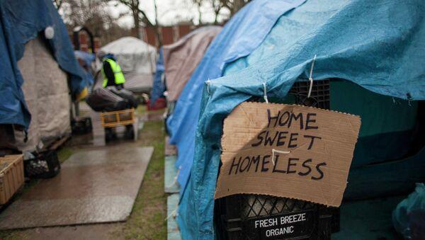 Persone senzatetto a Seattle - Sputnik Italia
