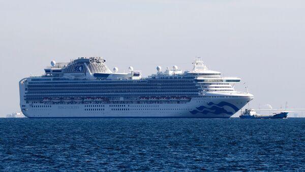 La nave da crociera Diamond Princess - Sputnik Italia